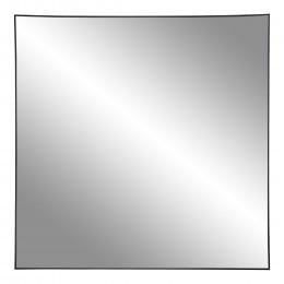 Nástěnné zrcadlo JERSEY oválné, černý rám