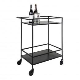 Stůl pracovní VITA House Nordic 100 cm, černý kov