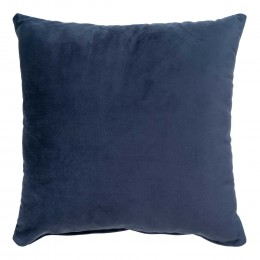 Polštář LIDO HOUSE NORDIC 45 cm, modrý samet