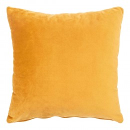 Polštář LIDO HOUSE NORDIC 45 cm, žlutý samet
