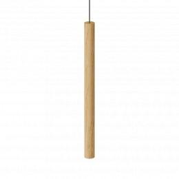 Závěsná lampa CHIMES TALL UMAGE Ø 3,4 cm, černý dub