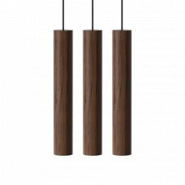 Závěsná lampa CHIMES UMAGE 3 lamp Ø 3,4 cm, přírodní dub