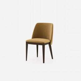 Jídelní židle CAMILLE DOMKAPA 81cm cotton velvet, zlatohnědá