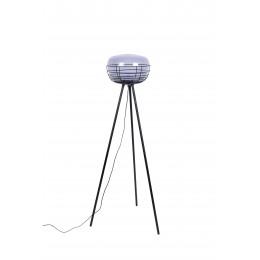 Stojací lampa SKALA ZUIVER kovová 155cm,černá