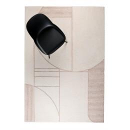 Koberec BLISS ZUIVER 160x230 cm, natural/pink