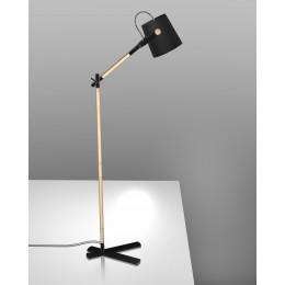 Stojací lampa Nordica černá