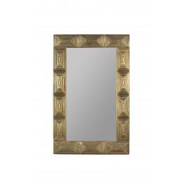 Zrcadlo RABAT listový rám 100x70 cm,zlaté