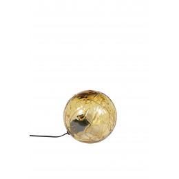 Stolní lampa LUNE DUTCHBONE 25 cm, jantarové sklo