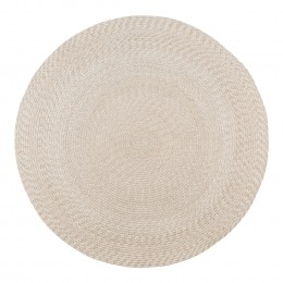 Venkovní koberec  kruhový MENORCA Ø120 cm,pískový