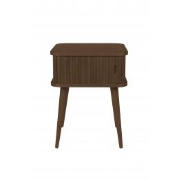 Noční stolek BARBIER ZUIVER, černý dub