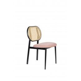 Jídelní židle čalouněná SPIKE ZUIVER, růžová