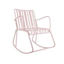 Zahradní židle LINES, růžová
