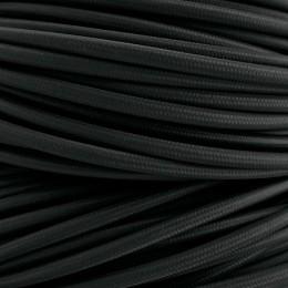 Kabel textilní černý