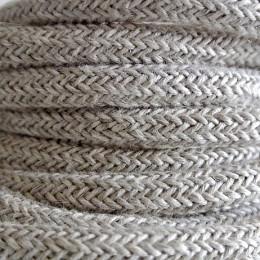 Kabel textilní len