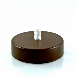 Montura stropní lakovaný kov hnědá