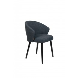 Jídelní židle BRANDON DUTCHBONE, jasanová modrá