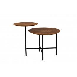 Konferenční stolek JOY ZUIVER 81cm,hnědý