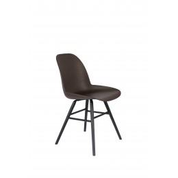 Jídelní židle Albert Kuip Zuiver, celá černá