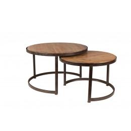 Konferenční stolek MATHISON DUTCHBONE 75x48,5cm,hnědý
