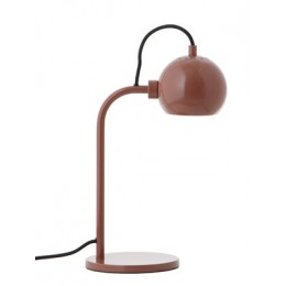 Ball Frandsen stolní lampa, glossy nude