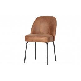Jídelní židle VOGUE, kůže koňaková hnědá