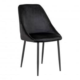 Jídelní židle PORTO PU kůže, černá