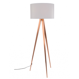 Tripod Copper White stojací lampa