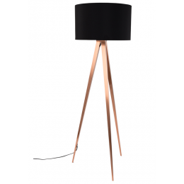 Tripod Copper Black stojací lampa