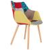 Židle/křeslo Twelve color/ Patchwork