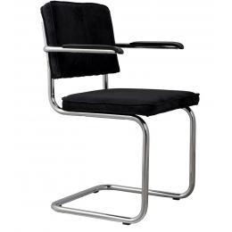 Židle s područkou Ridge Rib black