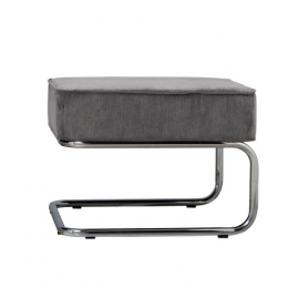 Podnožka Ridge Lounge Rib cool grey