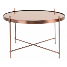 Stolek Cupid Large ZUIVER copper