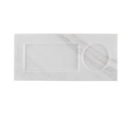 Servírovací tácek Marble Tray, White