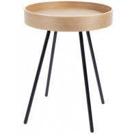 Odkládací stolek Oak Tray ZUIVER Ø46,5 cm