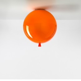 Stropní Memory triplex sklo, oranžová