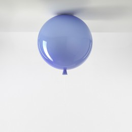 Stropní Memory triplex sklo, modrá