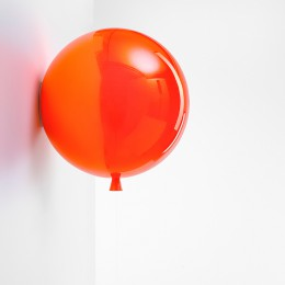 Nástěnné Memory triplex sklo,oranžová
