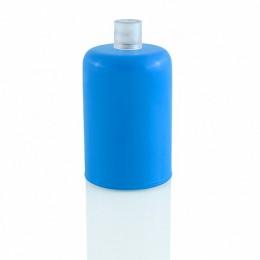 Objímka tmavě modrá, lakovaný kov