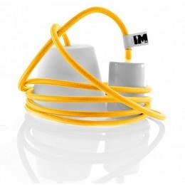 Silikon 1-závěsná žárovka, yellow/white