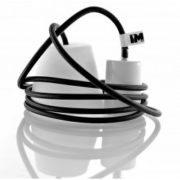 Silikon 1-závěsná žárovka, blue/white
