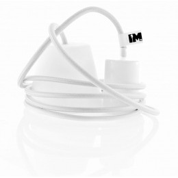 Silikon 1-závěsná žárovka, white /white