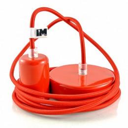 Lak 1-závěsná žárovka červená
