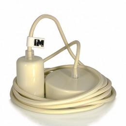 Lak 1-závěsná žárovka cream