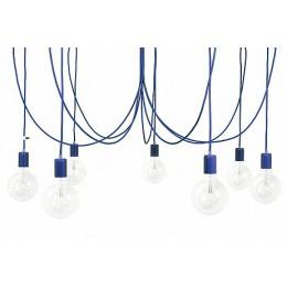 Závěsný lustr IMIN, Lak light blue