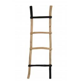 Žebřík, věšák HARRY, dřevěný