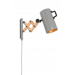 Nástěnná lampička Flex /grey
