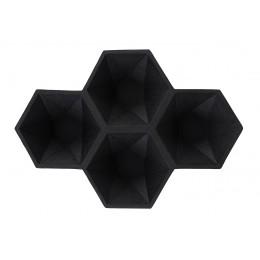 Dekorační mísa HEXAGON/ black