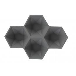 Dekorační mísa HEXAGON/ grey
