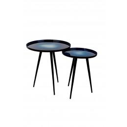 Odkládací set stolků FLOW / blue