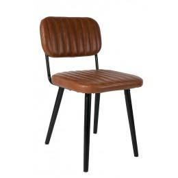Židle JAKE Cognac ZUIVER